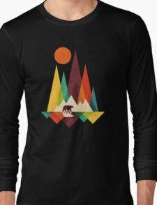 Mountain Bear Long Sleeve T-Shirt