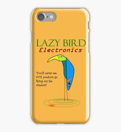 Lazy Bird Electronics iPhone Case/Skin