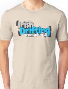Irish Drifting Community - Blue Logo Unisex T-Shirt