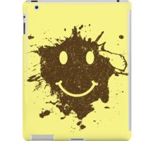 Vintage Mud Smiley iPad Case/Skin