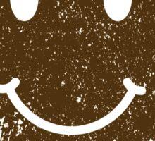 Vintage Mud Smiley Sticker