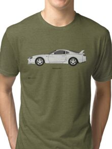 Toyota Supra Tri-blend T-Shirt
