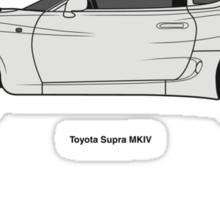 Toyota Supra Sticker