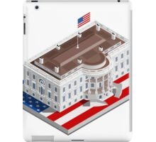 Election Infographic USA White House iPad Case/Skin