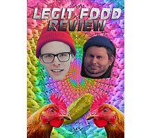 LEGIT FOOD REVIEW h3h3 idubbbz COLLAB  Photographic Print