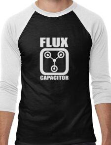 FLUX CAPACITOR, Funny, Humor Men's Baseball ¾ T-Shirt
