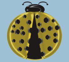 Yellow Ladybug Children T-shirt Baby Tee