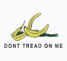 Vintage Banana Gadsen Flag Spoof Baby Tee