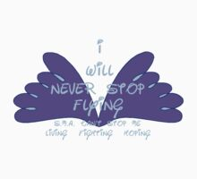 I will never stop flying - SMA One Piece - Short Sleeve