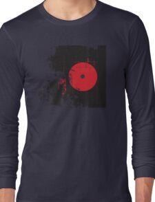 Faded Vinyl Long Sleeve T-Shirt
