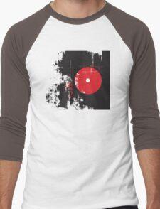 Faded Vinyl Men's Baseball ¾ T-Shirt