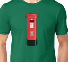 British Red Post Box  Unisex T-Shirt