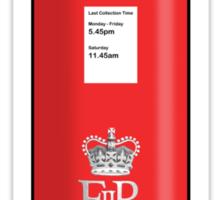 British Red Post Box  Sticker