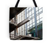 Construction Prongs Tote Bag