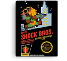 Super Shock Bros Canvas Print