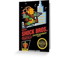 Super Shock Bros Greeting Card