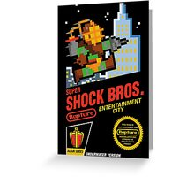 Super Shock Bros Greeting Card