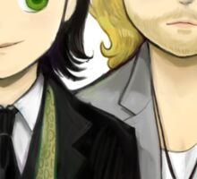 Loki and Thor Sticker