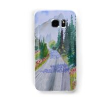 Biking The Mountains Samsung Galaxy Case/Skin
