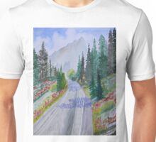 Biking The Mountains Unisex T-Shirt