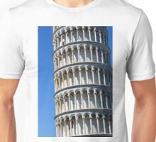 Leaning tower from the world famous Piazza dei Miracoli in Pisa, Italy. Unisex T-Shirt