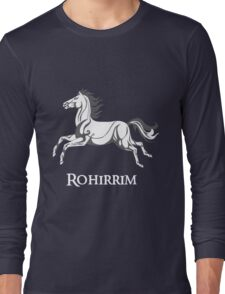 White horse of Rohan Long Sleeve T-Shirt