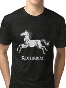 White horse of Rohan Tri-blend T-Shirt