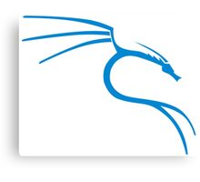 Kali Linux Tees Canvas Print