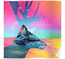 Matterhorn vs Rendeer Poster