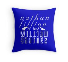 Nathan Fillion is my William Shatner Throw Pillow