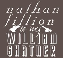 Nathan Fillion is my William Shatner Kids Clothes