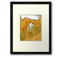 Hill End Arch Framed Print