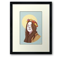 Amy Dyer: The Beautiful Genius Framed Print
