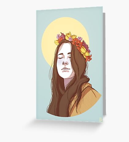 Amy Dyer: The Beautiful Genius Greeting Card