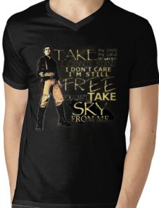 Take My Love Mens V-Neck T-Shirt