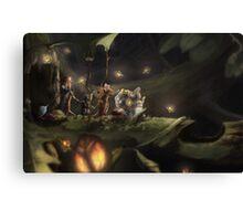 Mice Journey Canvas Print
