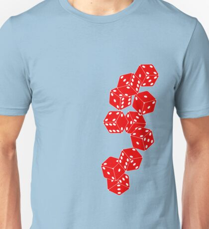 White Red Dice T-Shirt