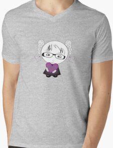 Little bit of Love Mens V-Neck T-Shirt