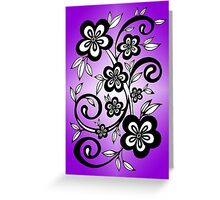 Floround Ombre  Greeting Card