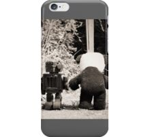 'If we go down to the woods today' iPhone Case/Skin