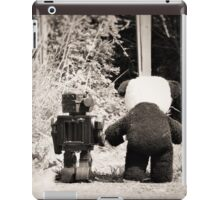 'If we go down to the woods today' iPad Case/Skin