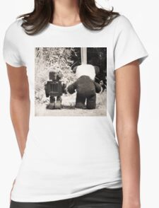 'If we go down to the woods today' Womens Fitted T-Shirt