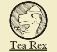 Tea Rex by squidyes