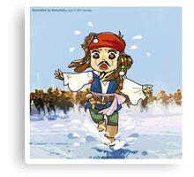 Chief Jack Sparrow Canvas Print