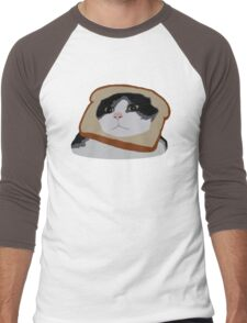 Bread Cat Men's Baseball ¾ T-Shirt