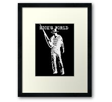 Mick's World Framed Print