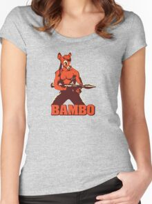 Bambo Women's Fitted Scoop T-Shirt