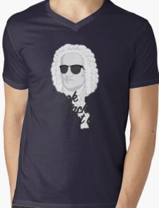 Look Bach at it Mens V-Neck T-Shirt