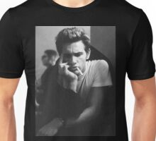 james franco with cig in mouth  Unisex T-Shirt