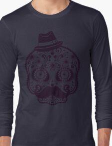 Mexican skull Long Sleeve T-Shirt